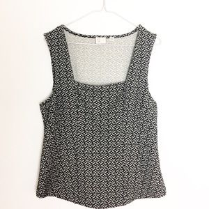 Anthro Postmark Tailored Tank Top  - L